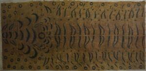 Rare Antique Korean MinHwa Folk Hand Painting Hopi Tiger on JangJi Paper