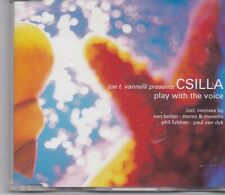 Joe T Vannelli presents Csilla-Play With The Voice cd maxi single 6 tracks