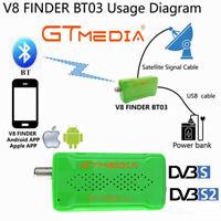 GTMEDIA V8 Finder BT03 Satellite Finder FHD DVB-S2 1080P BT Sat TV Signal Meter