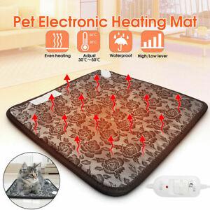 Pet, Cat, Dog, Puppy Warm Heated Pad, 20w Heat Pad, Pet Winter Electric mat bed