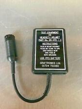Graytronics Ltd Helmet Headset Test Equipment 95hte 1 6625 99 808 2501