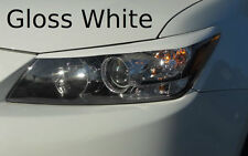 2011-2013 Scion TC pre-cut Headlight Eyelid Overlays- White vehicle graphic film