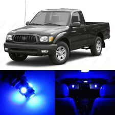 9 x Blue LED Interior Lights Package For 1995 - 2004 Toyota Tacoma + PRY TOOL