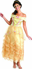 Disney Princess Belle Women's Halloween Cosplay Costume 12-14 Large #7562