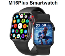 M16plus Waterproof Smartwatch For iPhone iOS Android Phone Bluetooth Smartwatch