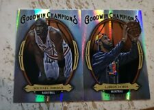 Michael Jordan & LeBron James Holo SP 2020 Upper Deck Goodwin Champions