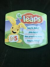EDUCATIONAL TOYS FOR BABY Leap Frog Little Leaps Say It Baby Verbal Vocal