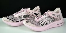 Nike Zoom Fly SP Fast X Nathan Bell Pink AT5242-100 Gyakusou Mens Size 15