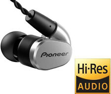 Pioneer Hi-Res In-Ear Ergonomic Tangle Resistant Headphones / Inline Remote+MIC