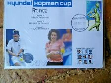 2001 Hopman Cup France Team Clement & Razzano Cover