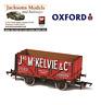 Oxford OR76MW7026 7 Plank Mineral Wagon Jas McKelvie London No2082 OO Gauge