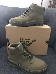 Dr Martens Women's Bonny Tech Olive Green Chukka Boots-Uk 8
