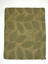 "Lintex Tablecloth ~ Elm Collage Damask ~ Sage ~ 70"" Round **NEW**"