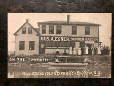 Beck's Beer Gus Egner Summer Garden Litho Grand Island Ferry Buffalo Ny Towpath