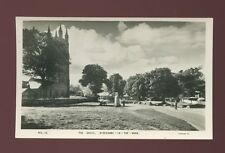 Devon WIDECOMBE-IN-THE-MOOR Church The Green c1950/60s? RP PPC by Frith
