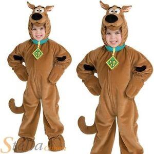 enfant scooby doo Costume garçons filles polaire Combinaison Costume déguisement