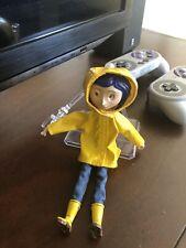 Coraline - Bendy Fashion Doll - Rain Coat - NECA Used