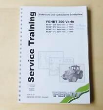 Fendt 309 310 311 311 312 Vario Schaltpläne Werkstatthandbuch Original 2006