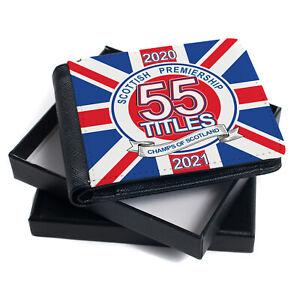 Rangers 55 Wallet Champions Winners Football Retro Mens Dad Gift