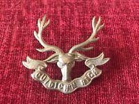 The Seaforth Highlanders Cap Badge 100% Genuine Scottish Regiment 6/9