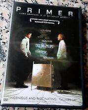 PRIMER 2004 RARE Time Travel DVD David Sullivan Shane Carruth Fascinating Sci-Fi