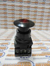 52BP2G2A, PUSH BUTTON SWITCH, LUMMINATED RED 120V