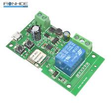 DC 5V-32V Jog self-lock Smart WiFi Wireless Switch Relay Módulo APP Control