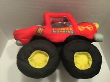 Power Monster Truck Stuffed Plush Good Stuff Toy 90s 1992 Vtg