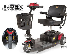 Golden Technologies GB117XLS Buzzaround XLS 3 Wheel Mobility Scooter  Travel