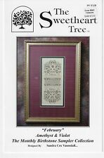 The Sweetheart Tree -February- Amethyst & Violet -Monthly Birthstone -New