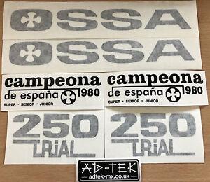OSSA GRIPPER 250 STICKER KIT