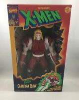 """Marvel X-MEN Deluxe Edition Omega Red 10"""" Action Figure - Toy Biz 1994"""
