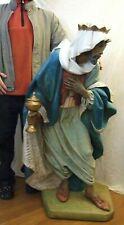 "50"" Institutional Fontanini Nativity King Balthazar Simonetti 1988 Exc Condition"