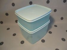 Tupperware Antarctica Freezer Mates Set of 2 400ml & 800ml New