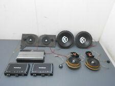 2013 12 13 14 15 Chevy Camaro ZL1 Audio Equipment Fosgate / Addictive #2871