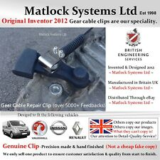 Gear Cable Repair Clip for Vauxhall Vivaro Nissan Renault  (DIY-Only 60 Seconds)