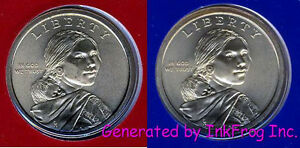 2009 P & D Native American Dollars Satin Finish Gem Bu from mint sets