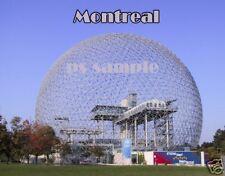 Canada - MONTREAL BIOSPHERE DOME Travel Souvenir Flexible Fridge Magnet
