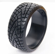 4PCS RC 1:10 On-Road Drift Car Tires Hard Plastic Tyre Fit HPS HPI TAMIYA REDCAT