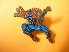 Spiderman pin badge. Super hero Spidey. Cartoon and movie hero