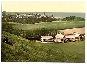 2 Victorian Views Cromer Cliffs Beach Golf Club House Repro Old Photos Posters