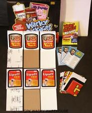 WACKY PACKAGES OLD SCHOOL 3 MASTER SETS TAN WHITE LUDLOW BACK 1967 141 CARDS