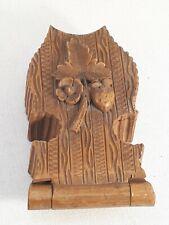 potence présentoir support  boite montre de poche  en bois