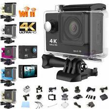 """Ultra 4K HD 2.0"""" WiFi Pro Sports Action DV Camera Waterproof Go Kart HDMI Helmet"""