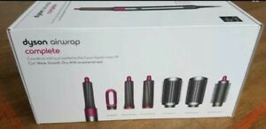 Dyson Airwrap Smooth and Control Styler Complete in Nickel Fuchsia Theme