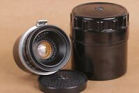 Lens JUPITER-12 Black  (2,8/35) Mount Contax Kiev camera Soviet USSR