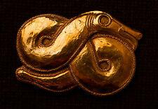World Snake Belt Buckle - B-61