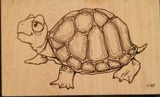 BOX TURTLE RUBBER STAMP CRESCENT TURTLE, TORTOISE