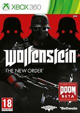 Wolfenstein The New Order - XBOX 360 MINT - 1st Class Delivery