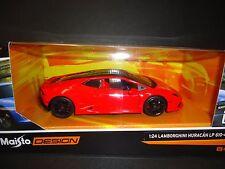 Maisto Lamborghini Huracan LP610-4 rouge 1/24 Design